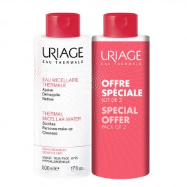 Uriage Duo Eau Micellaire Sensitive Skin 2X500ml