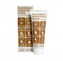 Hamilton Everyday Face Sunscreen Spf30 50gr