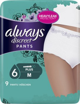 Always Discreet Pants Medium Plus 9τμχ