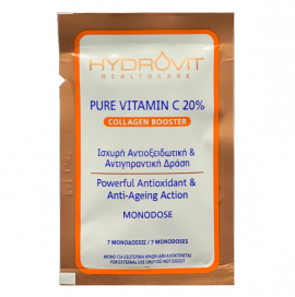 Hydrovit Pure Vitamin C 20% Collagen Booster 7 Μονοδόσεις