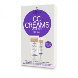 Youth Lab Set CC Complete Cream SPF30 Oily Skin 50ml + Δώρο Youth Lab CC Complete Cream for Eyes All Skin Types 15ml