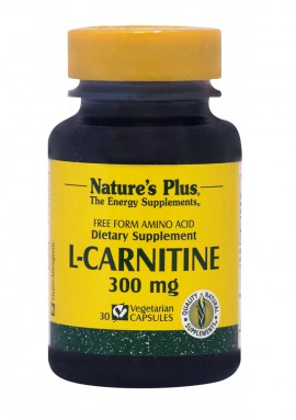 NATURES PLUS L-Carnitine 300mg 30vcaps