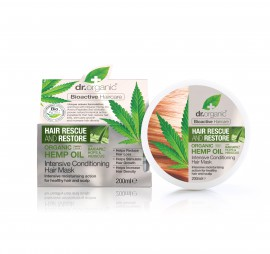 DR.ORGANIC HEMP OIL INTENSIVE CONDITIONING HAIR MASK 200ML