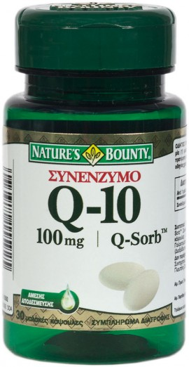 Natures Bounty Συνένζυμο Q10 Q-Sorb 100mg 30softgels