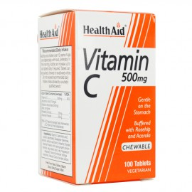 HEALTH AID VIT-C 500MG ΜΑΣΩΜΕΝΗ 100TABS-ECONOMY