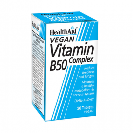 HEALTH AID B50 COMPLEX PROLONGED RELEASE TABLETS 30s