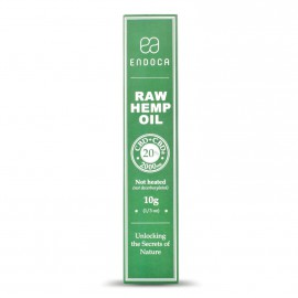 Endoca Raw Hemp oil 20% CBD+CBDa 10ml