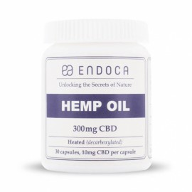 Endoca Hemp oil Capsules 3% CBD 30pieces