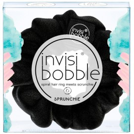 Invisibobble Sprunchie Spiral Hair Ring True Black 1τμχ