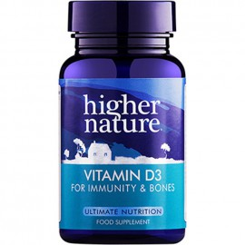 Higher Nature Vitamin D3 500iu 120caps