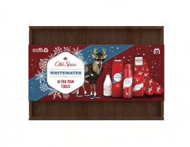 Old Spice Set Whitewater Deodorant Body Spray 150ml + Old Spice Whitewater Deodorant Stick 50ml + Old Spice Whitewater Shower Gel 250ml + Old Spice Whitewater After Shave Lotion 100ml + Old Spice Κάλτσες