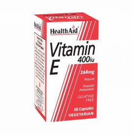 Health Aid Vitamin E 400iu 60Caps