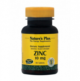 Natures Plus Zinc 10mg 90tabs