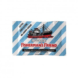 FISHERMANS FRIEND Καραμέλες Original Sugar Free (ΓΑΛΑΖΙΟ) 25gr
