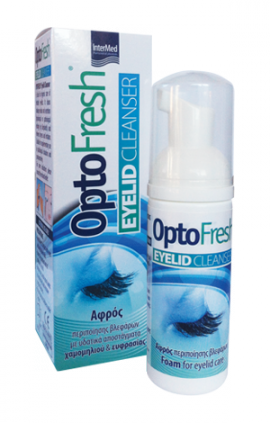 INTERMED OPTOFRESH EYELID CLEANSER 50ml