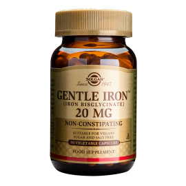 SOLGAR GENTLE IRON 20MG 180VCAP