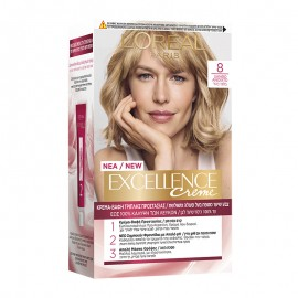 LOreal Excellence Creme 8 Ξανθό Ανοιχτό 48ml