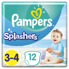 Pampers Splashers No.3-4 (6-11kg) 12 Πάνες