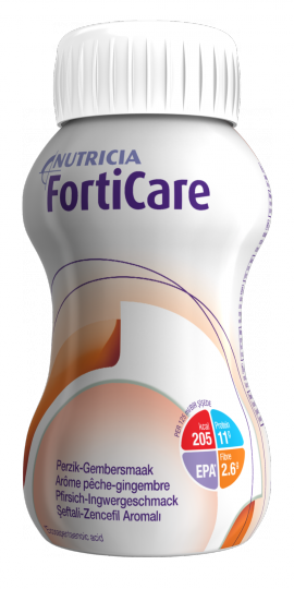NUTRICIA FORTICARE Πορτοκ-Λεμόνι  4χ125ml