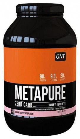 QNT Metapure Zero Carb Whey Isolate Protein Yoghurt Forest Fruit 1kg
