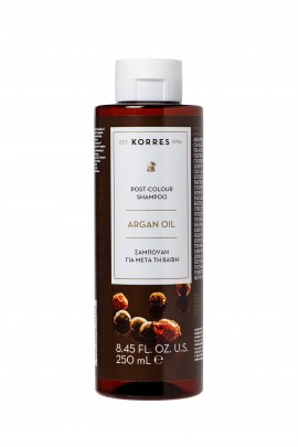 Korres Post-Colour Shampoo Argan Oil 250ml