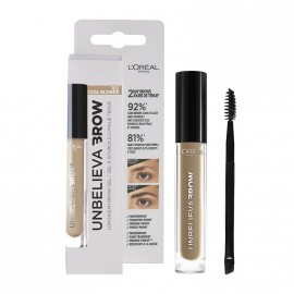 LOreal Paris Unbelieva Longwear Brow Gel 102 Cool Blonde 3.4ml
