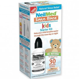 NEILMED SINUS RINSE PEDIATRIC STARTER KIT 120ML & 30 SACHETS