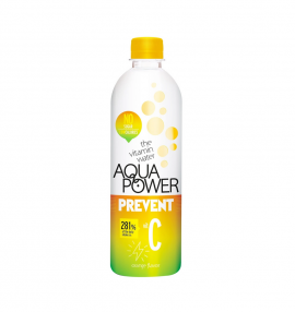 Aqua Power Water Prevent Vit C Orange Flavor 375ml