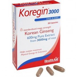 HEALTH AID KOREGIN 600MG -BLISTER 30S