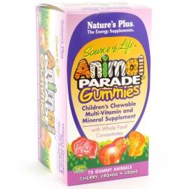 Natures Plus AP ASSORTED  GUMMIES 75