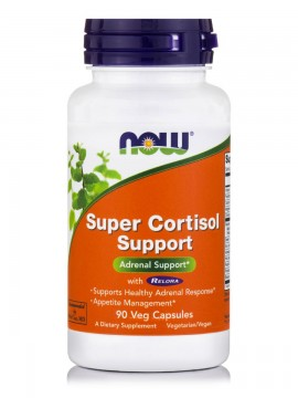 Now Foods Super Cortisol Support w Relora, Rhodiola, Holy Basil ,Green Tea, Ashwaganda & More 90Caps
