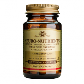 SOLGAR NEURO NUTRIENTS 30VCAP
