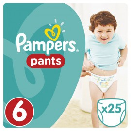 PAMPERS Pants No.6 (16+ Kg) 25 Πάνες