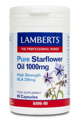 LAMBERTS PURE STARFLOWER OIL 90CAPS