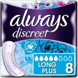 Always Discreet Long Plus 8τμχ