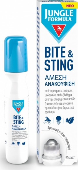 Omega Pharma Jungle Formula Bite & Sting 15ml