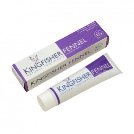 Kingfisher Natural Toothpaste Fennel Fluoride free 100ml