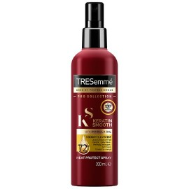 TRESemme Keratine Shine With Marula Oil Heat Protect Spray Προστατευτικό Σπρέι 200ml