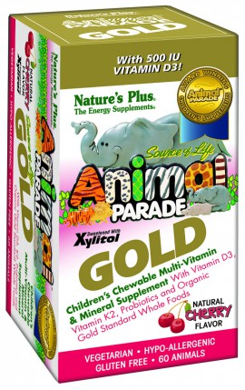NATURES PLUS ANIMAL PARADE GOLD 60TABS