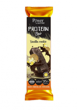 Power Health Protein Bar Vanilla Cookie Dark Chokolate Covering 60gr