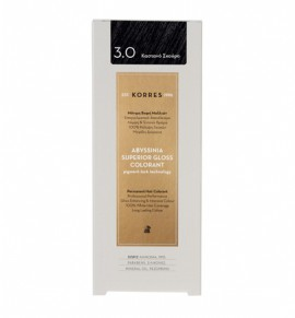 KORRES Abyssinia Superior Gloss Colorant 3.0 Σκούρο Καστανό 50ml