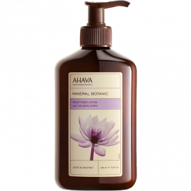 Ahava Mineral Botanic Body Lotion – Lotus Flower & Chestnut 400ml