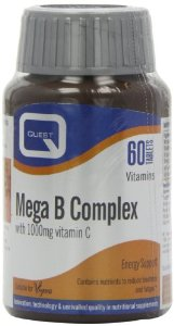 QUEST MEGA B Complex plus 1000mg vitamin C 60TABS