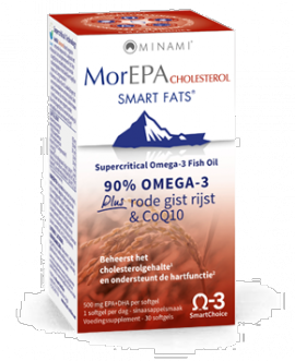 AM HEALTH MorEPA Cholesterol Smart Fats 30 caps
