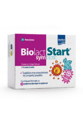 Intermed Biolact Start Symbiotic 20 Φακελίσκοι