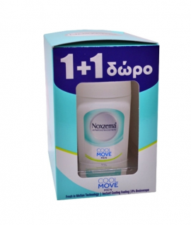 Noxzema Roll-On Men Cool Move 50ml 1+1 ΔΩΡΟ