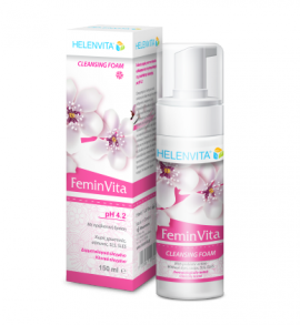 Helenvita FeminVita Cleansing Foam PH4.2 150ml (Τιμή Γνωριμίας)