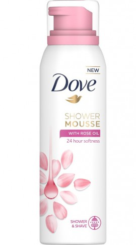 DOVE Shower Mousse Rose 200ml
