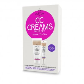 Youth Lab Set CC Complete Cream Spf30 for Normal - Dry Skin 50ml + Δώρο Youth Lab CC Complete Cream for Eyes All Skin Types 15ml