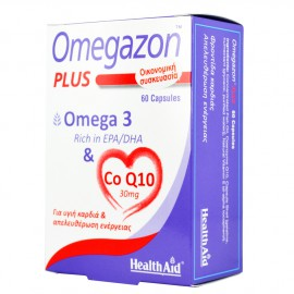 HEALTH AID OMEGAZON PLUS OMEGA 3+CoQ10 60caps